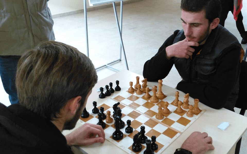 College chess tournament